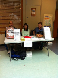 L to R Pete Quily, Yuan Jiang, Christopher Green At The West End Community Center ADHD Awareness Week 2013