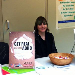 Jade Vajna At The West End Community Center ADHD Awareness Week 2013 photo #2