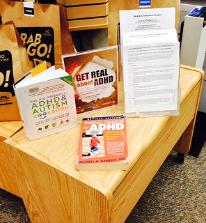 Photo of  White Rock Library White Rock ADHD Awareness Week Display 2013