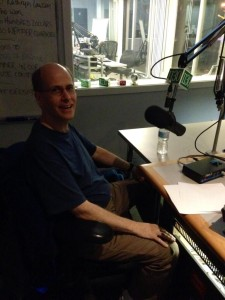 Pete Quily photo in News1130 studio by John Streit