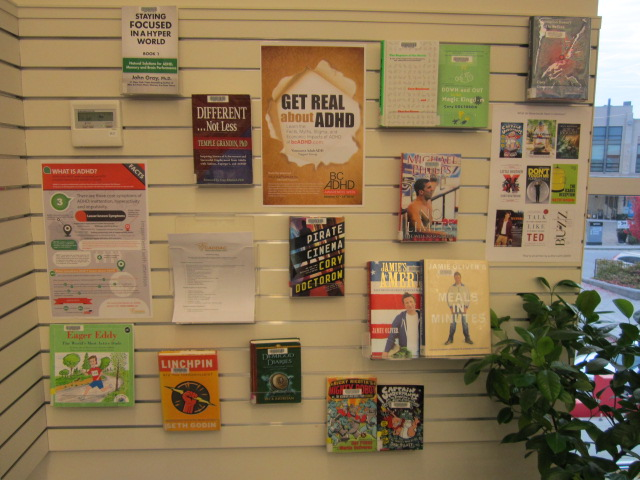 Emily Carr Branch Greater Victoria Public Library bc adhd awareness week 2015 photo